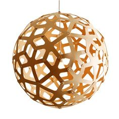 Coral 400 Bamboo Suspension Lamp - David Trubridge Design - Switch Modern