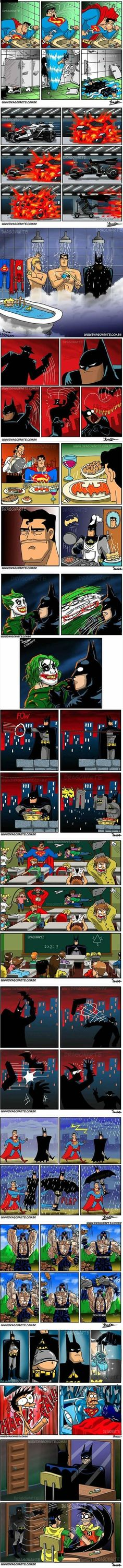 Some of the funniest Dragonartes Batman comics
