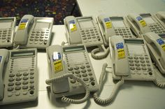 File:FEMA - 31894 - Close up of a group of telephones.jpg