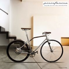 A edição limitada da Pininfarina Fuoriserie, uma bike com motor elétrico