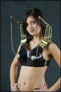Didn't think an oil rig bra existed? It definitely does.   20 Of The Craziest Bras Ever Created