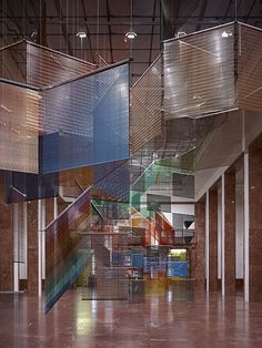 Installation by Haegue Yang, commissioned by Haus der Kunst, 2012, photo: Jens Weber, Munich