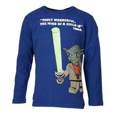 LEGO Wear Star Wars - Camiseta de manga larga con cuello redondo para niño, color kobolt blue 574, talla talla alemana: 146 #camiseta #friki #moda #regalo