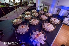 Guest tables.