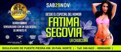 #EventosLima: Este sábado 29 toda la #belleza y Sensualidad de @fatisegoviaa en un #sexy  #desfile que será inolvidable  el punto de encuentro es #Platinium MegaDisco en el Boulevar de PuentePiedra KM29 Pan. Norte