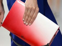Dior Red Ombre Bag Cruise 2014