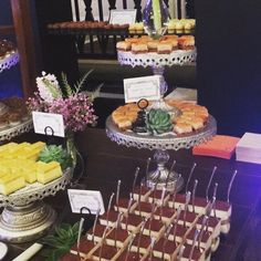 Pastry Works showing off some yummy treats at our patisserie at the Carolina Inn