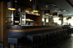 ROBAN BLACK + GOLD #pendantlight #bar #TAL