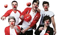 One Direction tocará música feita para o Red Nose Day no Brit Awards 2013! - Play - CAPRICHO