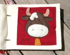 PATTERN for On The Farm Quiet Book digital .PDF door shelleywallace