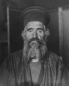 "Circa 1910 ""Rev. Joseph Vasilon, Greek-Orthodox priest."" IMAGE: AUGUSTUS FRANCIS SHERMAN/NEW YORK PUBLIC LIBRARY"