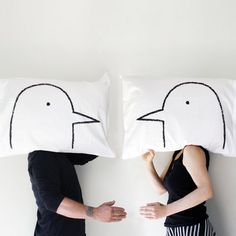 - Love Birds Pillowcase Set by Xenotees