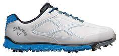 Oferta: 71.89€. Comprar Ofertas de Callaway Xfer Pro - Zapatos de golf para hombre, color blanco / azul, talla 40.5 barato. ¡Mira las ofertas!