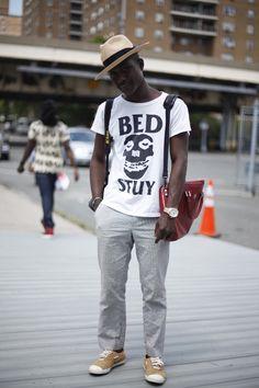 Street Style | Dapper Lou Reps His 'Hood