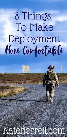 Great gifts for your deploying service member.