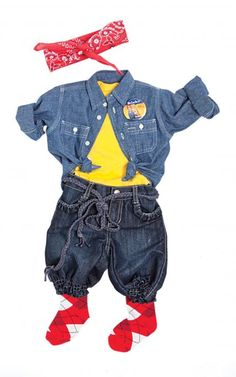 Does your little #girl already have a strong personality? Play it up this #Halloween with a Rosie the Riveter #costume.