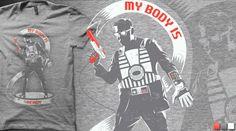#nintendo tshirt design #mybodyisready