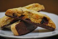 My story in recipes: Cherry Almond Biscotti