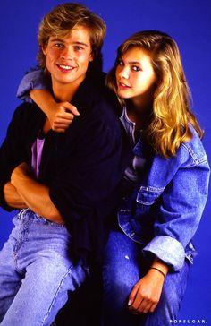 Brad Pitt & Shalanne McCall 1987