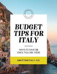 Budget Tips for Italy Travel How to save money while you are traveling in Italy Here are our favorite ways of saving money once you are in Italy. These tips are things we've done ourselves traveling in Italy for the past 10 years and recommend to friends, Italy Travel Tips, Budget Travel, Travel Destinations, Travel Hacks, Europe Budget, Money Budget, Rome Travel, Holiday Destinations, Travel Abroad
