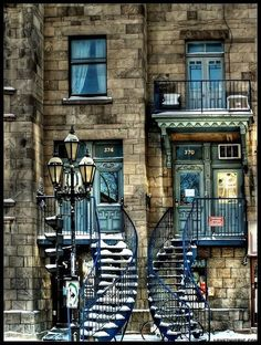 Apartments Montreal, Quebec, Canada  home travel building culture architecture canada lifestyle apartments quebec