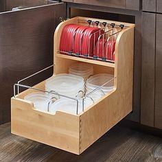 Rev-A-Shelf Food Storage Pull Out Drawer; 18''