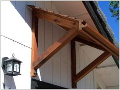 exterior wooden awnings - Google Search