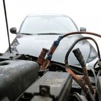 Jumpstarting a Car Battery Safely