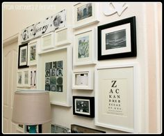 How to plan a good-looking gallery wall.