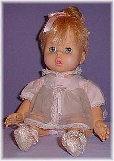 1960's Mattel Baby Pattaburp.