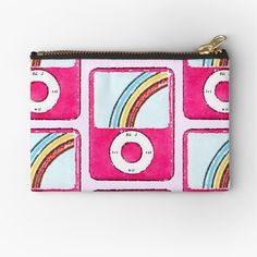 Ipod Nano, Makeup Bags, Mp3 Player, Zipper Pouch, Zip Around Wallet, Coin Purse, Art Prints, Inspired, Printed