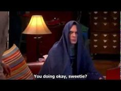 The Big Bang Theory, Sheldon unhappy with ominous music, subtitled. The Imperial March, Big Bang Theory, The Hobbit, Hunger Games, Bigbang, Make Me Smile, Good Times, Funny Shit, Youtube