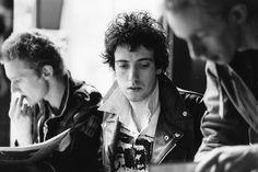 Mick Jones, Paul Simonon and Topper Headon  by Alain Dister