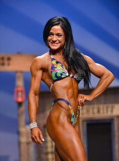 Ivana Ivusic 9th Felicia Romero Pro 2014 Fitness Class