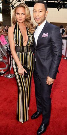 Chrissy Teigen and John Legend at the Billboard Music Awards.