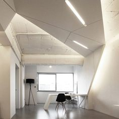 Cool Home Office Apartment Design Ideas with Wings Interior Design - Cool office interior designs Office Interior Design, Office Interiors, Futuristic Interior, Old Apartments, Apartment Complexes, Home Office Space, Apartment Furniture, Apartment Design, Seoul Apartment