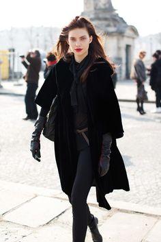 all black. always a good look.