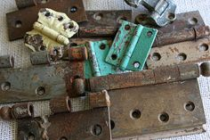 projects using old hinges good other stuff on blog katiegoodin
