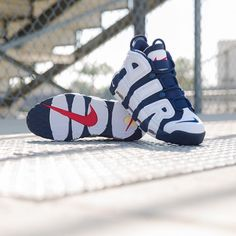 Summer of '96. The @nikesportswear Air More Uptempo is available at kickbackzny.com.