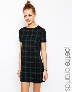 New+Look+Petite+Check+Tunic+Dress
