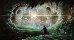 Agartha - Realm of the underground world Agartha is a legendary city that is said to reside in the earth's core.