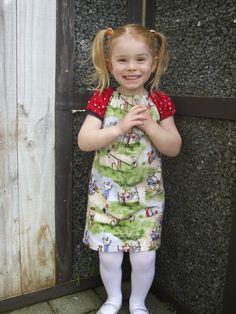 Flutterby Peasant Dress/top from LittleKiwisCloset