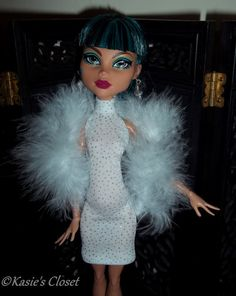 Handmade fashion  for Monster High dolls by KasiesCloset on Etsy, $7.50