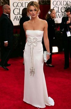 Keira Knightley in Valentino | 10 Best Golden Globe Dresses | Camille Styles