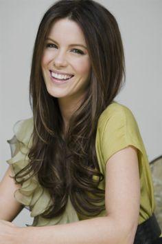 Kate Beckinsale - her hair