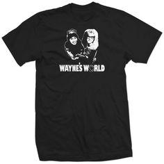 Waynes World Garth Wayne Dana Carvey Mike Myers Movie Shirt. $18.99, via Etsy.