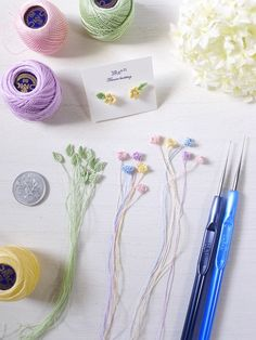 Pin on flower knitting accessories Pin on flower knitting accessories Crochet Flower Tutorial, Crochet Diy, Crochet Flower Patterns, Irish Crochet, Crochet Motif, Crochet Crafts, Crochet Flowers, Crochet Projects, Sewing Crafts