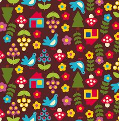 may pattern by 'smil Pantry drawer liners Bird Wallpaper, Pattern Wallpaper, Iphone Wallpaper, Pretty Patterns, Vintage Patterns, Textures Patterns, Fabric Patterns, Doodle Girl, Origami