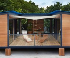 modern cabin by louis vuitton
