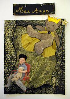 les petites têtes de l'art: Les Doudous sous la baguette magique de Cécile